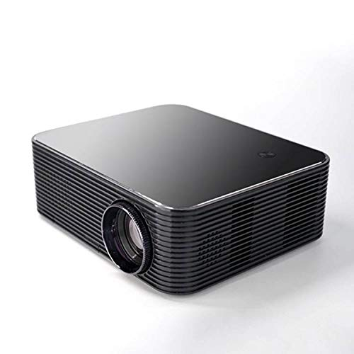 Ouumeis Proyector casa Inteligente, 1080p teléfono móvil WiFi Misma Pantalla 4K Ultra-Clara LED Cine casa, 16: 9 tecnología proyección, LCD un Solo Chip, la función de proyección inalámbrica