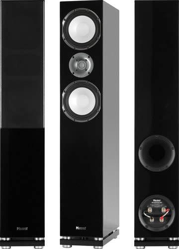 Quantum 805 (Stück) 2,5-Wege Bassreflex mit Doppelbass Standlautsprecher piano schwarz