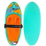 Swonder Water Sports Kneeboard for Boating, 52''L x 21''W Knee Board with Hook for Kids & Adults, Waterboarding, Knee Surfing