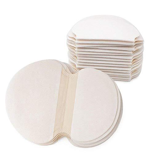Sweat pad Protections Jetables pour Les Aisselles Coussinets De Transpiration pour Aisselles Bouclier Absorbant Les Odeurs pour Femmes 20 Pcs (10 Paires) Hkhckl