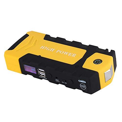 Balscw Démarreur de Saut 12V, Puissance de démarrage d'urgence multifonctionnelle pour Voiture, 82800Mah (Essence 3.5L, Diesel 2.5L), Dual USB, Compas, Marteau de sécurité