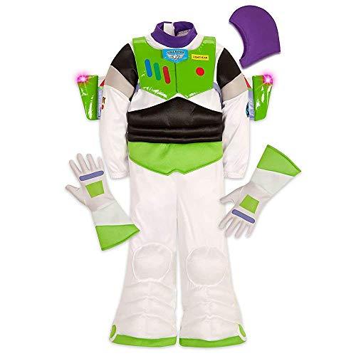 Buzz Lightyear Disfraz de Disney Store, talla 7/8