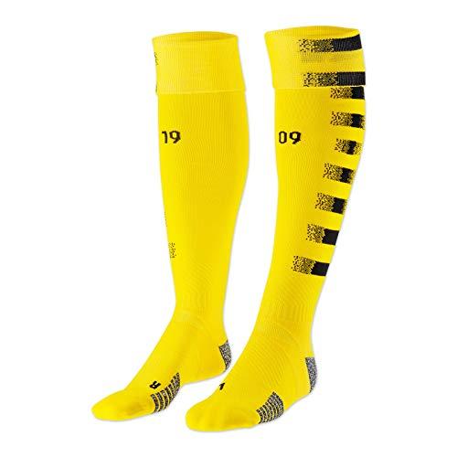PUMA BVB 09 Borussia Dortmund Trikot Stutzen Home 20/21 (39-42, Yellow/Black)