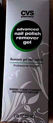CVS Pharmacy advanced Nail Polish Remover gel, 2 fl oz / 59 ml