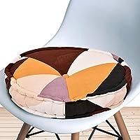 COZY FURNISH Round Floor Pillow Tufted Cushion Thick Chair Pads, Chair Cushion, Back Support Cushion, Seat Cushion 16x16...