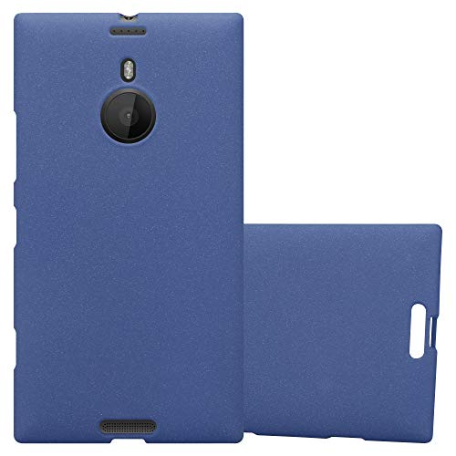 Cadorabo Funda para Nokia Lumia 1520 en Frost Azul Oscuro - Cubierta Proteccíon de Silicona TPU Delgada e Flexible con Antichoque - Gel Case Cover Carcasa Ligera