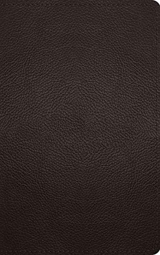 ESV Thinline Bible (Buffalo Leather, Deep Brown)