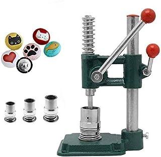 SEAAN Fabricant de Boutons Recouverts de Tissu Outil de Bricolage Bouton Vintage avec 3 Moules (Diamètres 18, 25, 30 mm) e...