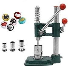SEAAN Stof Bedekte Knop Maker Vintag Knop DIY Tool met 3 Mallen (diameters 18, 25, 30mm) en 300 PCs Knoppen