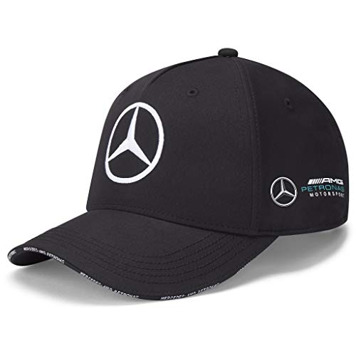 Fuel For Fans Mercedes Benz AMG Petronas F1 2021 Team Baseball Hat Black/White (Black)