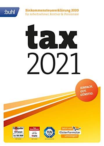 Preisvergleich Produktbild Tax 2021 (für Steuerjahr 2020 / frustfreie Verpackung)