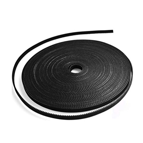 Lorenlli 1.7M/lot 3D Printer Part Accessory GT2-6mm PU with Steel Core GT2 Open Timing Belt Wide 6mm for RepRap Mendel Rostock