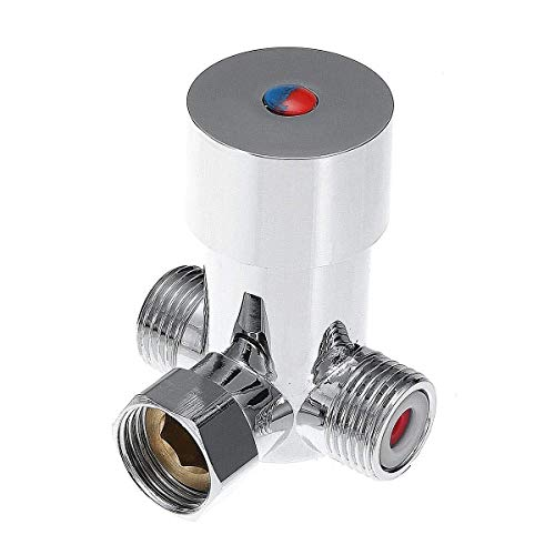 RONGW JKUNYU Grifo de la Cocina de Mezcla termostática de Control de Temperatura de la válvula for el Sensor sin Contacto del Grifo de Agua de Muebles