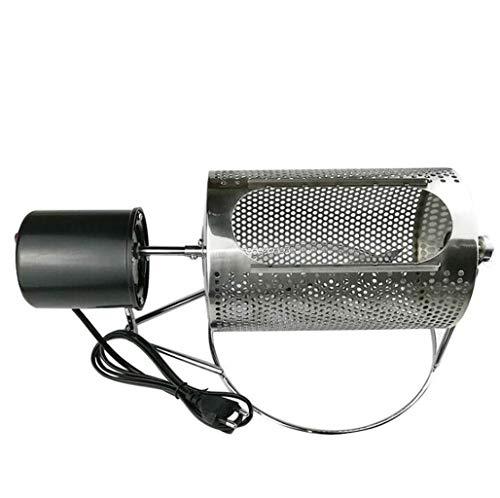 AJH Kommerzieller Kaffeeröster Edelstahl Haushalt kleine Backmaschine Elektrische Bohnenbackmaschine Popcorn Kaffee geeignet für das tägliche Kochen zu Hause und im Geschäft.