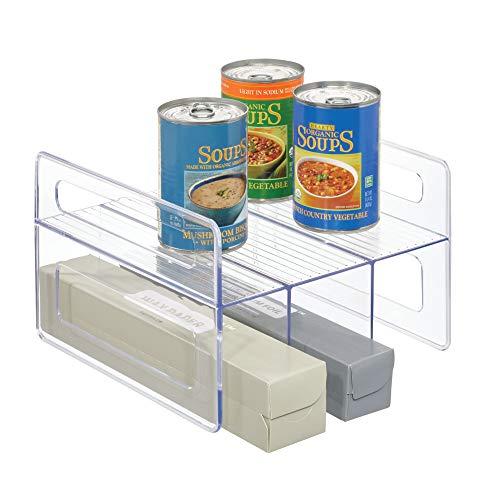 iDesign Flip Rack Kitchen Cabinet Organizer - 10 x 966 x 65 Clear