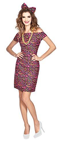 Women's 80s Animal Print Dress Costume. Sizes 12-14, 16-18