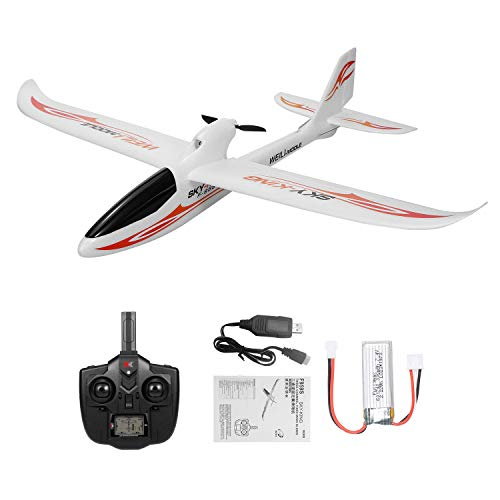 Goolsky WLtoys F959S RC Avión rtf Drone Mini ala Fija Sky-King 2.4G 3CH 6-Axis Gyro Control Remoto Aircraft Glider RTF para Regalo de Niños Presente