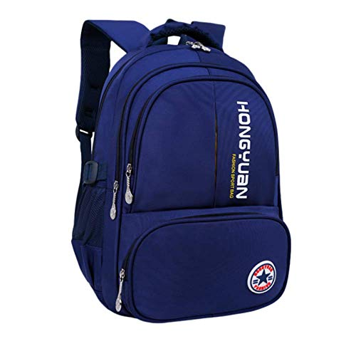 LYZJDP Backpacks, Schoolbags for Boys and Girls for Primary School Students, Light Waterproof Backpacks for Children in Grades 1-6