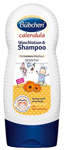 Bübchen Calendula Waschlotion und Shampoo, 230ml