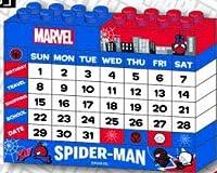 MARVEL ブロックカレンダー  スパイダーマン