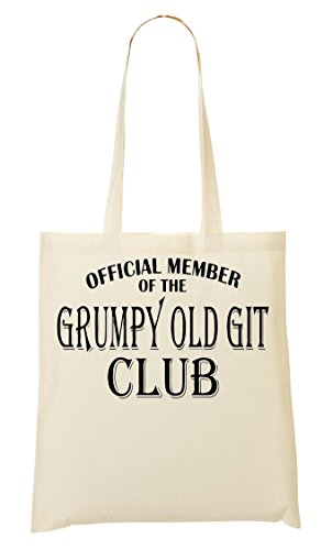BAH HUMBUG Scrooge xmas hate christmas grumpy git cotton Tote shopper Bag
