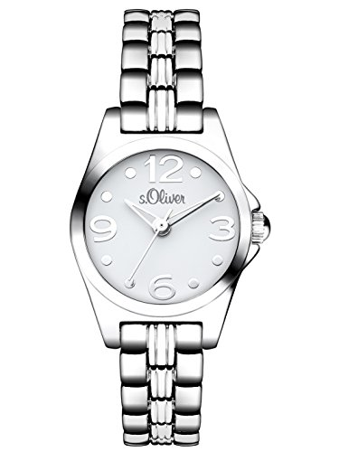 s.Oliver Damen-Armbanduhr XS Analog Quarz Alloy SO-3041-MQ