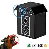 Sonic Dog Bark Control Device, 2019 Upgraded Outdoor Bark Controller, Dog Anti Barking Repellent and Sonic Bark Deterrents Device | Bark Breaker to Let Stop Barking Dogs (Anti Barking Device - Black)