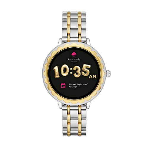 Kate Spade New York Scallop Touchscreen Smartwatch, Two-Tone Stainless Steel Bracelet, 42mm, KST2007