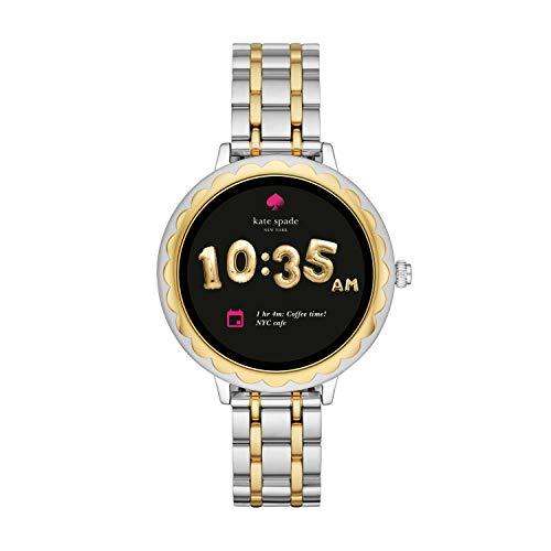 Kate Spade New York Scallop Touchscreen Smartwatch, Two-Tone Stainless Steel Bracelet, 42mm, KST2007