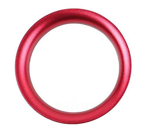 ZHUOTOP Motor-Startknopf-Ring, Abdeckung, Konsole, rot, für Mazda 3Axela 2014–2017, rot