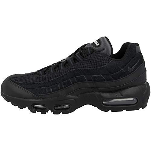 Nike Unisex-Erwachsene AIR MAX 95 Essential Laufschuhe, Schwarz (Black/Black/Anthracite/White 001), 42 EU