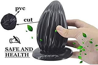 FHLJ Bootie Plug Bǚtt Play, Black, Cat Tail Bǚtt Play Plug Huge Anãl Plug Curving Big Dong Pröstátê Massage Vágǐná Masturbation Large Bǚtt Plug