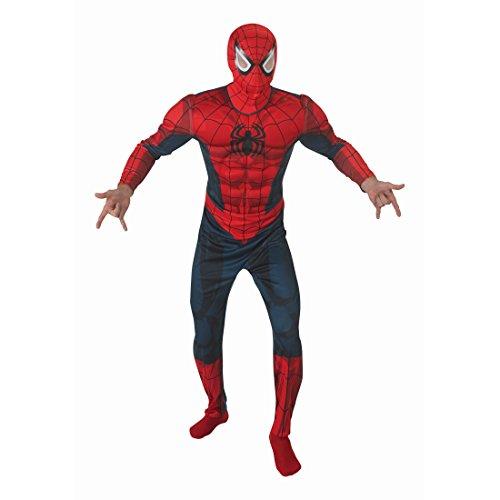 Spinnenkostüm Spider Superheldenkostüm Marvel Avengers M/L 48-52 Comic Helden Spidermankostüm Spiderman Kostüm Karneval Kostüme Herren Superhelden Spinnen Faschingskostüm Superheld Spinne Heldenkostüm Lizenz