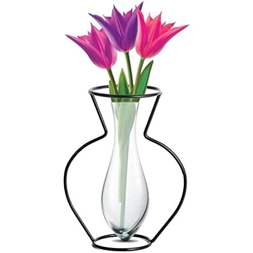 Jarrones Decorativos Modernos Altos Transparentes jarrones decorativos modernos altos  Marca Desconocido