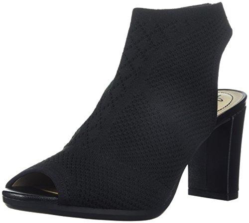 LifeStride Women's Alita Heeled Sandal, Black, 6 M US