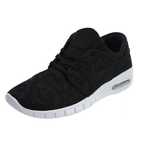 Nike Herren Stefan Janoski Max Sneaker, Schwarz (schwarz schwarz), 38.5 EU