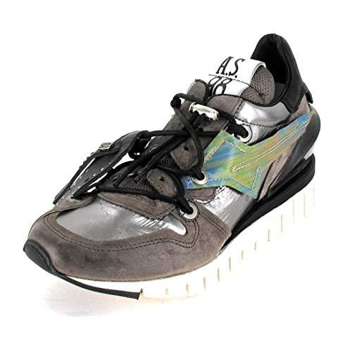 airstep / a.s.98 Denastar Sneaker Damen Grau - 37 - Sneaker Low Shoes