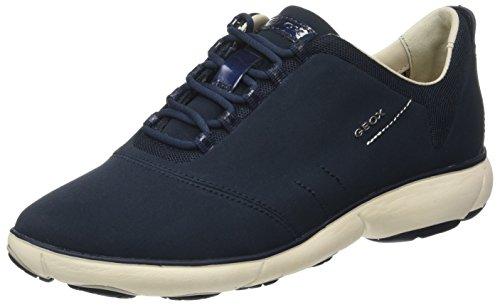 Geox D Nebula a, Zapatillas para Mujer, Azul (Navy), 41 EU (7.5 UK)