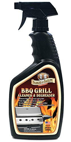 Parker & Bailey BBQ Grill and Surface Cleaner and Degreaser 24 oz Spray