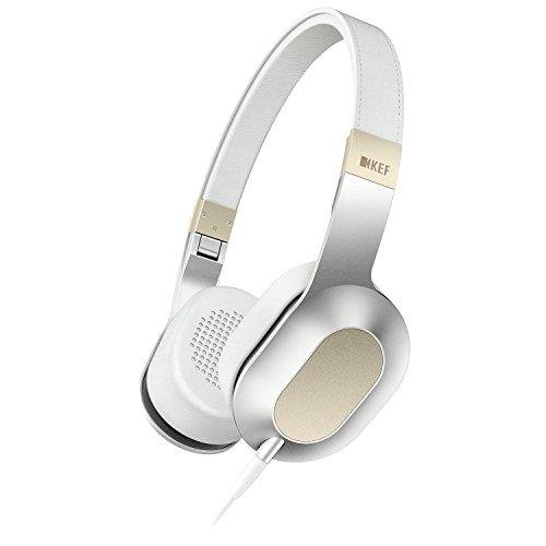 KEF M400 Design Kopfhörer champagne weiß