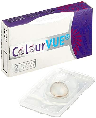 Farbige Kontaktlinse 3 Töne Braun 3 Monate Einweg 14 mm stärke 0.00 von ColourVUE entfernt