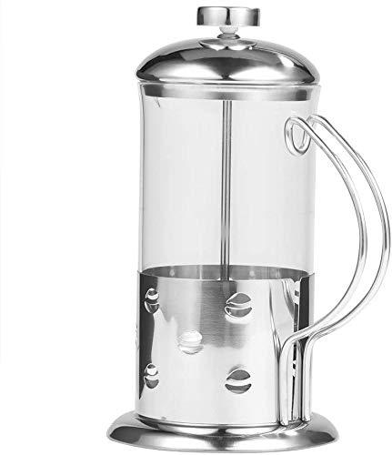 ZAP - Máquina de café de prensa francesa, de acero inoxidable, taza de café, cafetera, filtro 3D (350 ml) para el hogar, la oficina y la cafetería