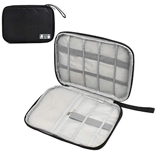 Pinsheng Organizador de Cables de Viaje, Accesorios Electrónicos Bolsa de Viaje para...