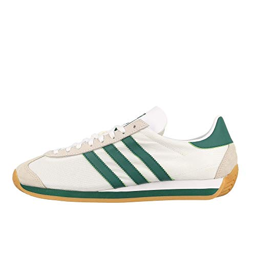 adidas Originals Country OG, Footwear White-Collegiate Green-Clear Brown, 5