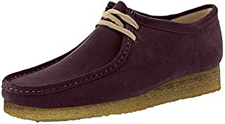 CLARKS Men's Wallabee Shoe Purple Grape Nubuck Size 9.5 D(M) US (B071ZRLKYM) | Amazon price tracker / tracking, Amazon price history charts, Amazon price watches, Amazon price drop alerts