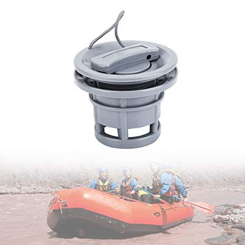 Yosoo Health Gear Schlauchboot Ventil, Bootsluftventil, Ersatz des Bootsgasventils, PVC-Bootsventil für Schlauchboote, Flussflöße und Kajaks (grau)