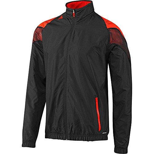 adidas Herren Jacke F50 Woven, black/infrared, S, G72865