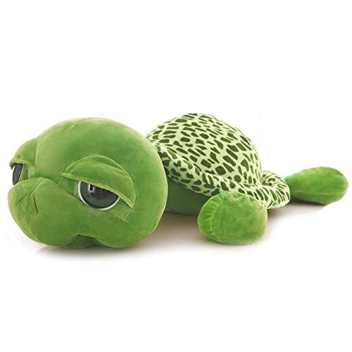 Plush Toys Cut Plush Animal Toys Cute Plush Toys Plush Gifts, 20/30/40/60/80/100/120CM Big-eyed Tortoise Plush Toy Tortoise Animal Gifts For Children (Size : 100cm)