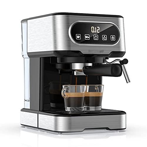 DAGONGREN Máquina de café 20 Bar Milk Froth Frothing Electrodomésticos Espuma eléctrica Cappuccino Cafetera