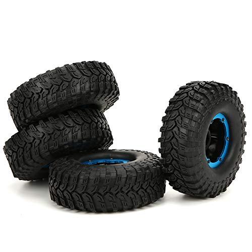 KUIDAMOS Neumático Inflable de 1,9 Pulgadas y 100 mm, Mini neumático Duradero de Alto Agarre, Alta Resistencia a los Golpes para Coche RC 1/10